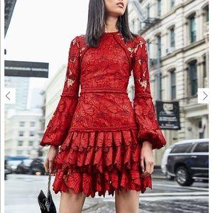 Authentic Alexis Francisca Lace Mini Dress